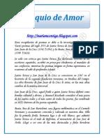 Poemas de Santos, Coloquio de Amor