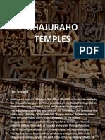 Khajuraho Temples- Final