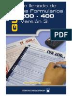 Guia Forms. 200 y 400 SIN