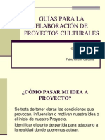 Guia Elaboracion Proyectos Culturales