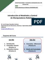 CinvesRob 2013_Curso de Robotica (Differential Kinematics & Control)