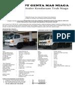 Hino Fm 260 Jd Karoseri Dump Truck Scope End