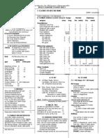 Volley & Bayonet Player Sheet Full