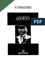 OS PENSADORES - Vol. 48-3 (1996). Adorno.pdf
