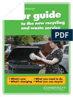 Edinburgh Recycling Guide 2014