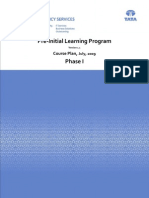 Pre-ILP PhaseI
