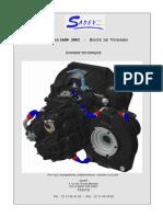 Caja de Cambios Sadev (206 S1600)