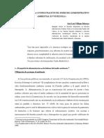 Aproximación Al Derecho Administrativo Ambiental