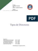 Tipos de Directores