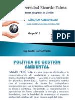 Gestión Ambiental ISO 14001 - Grupo 2