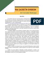 Corrado Malanga -Geometria Sacra în EVIDEON - EVIDEON 2 RO