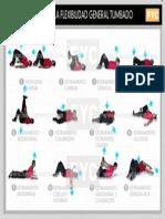 Entrenamiento de Flexibilidad Tabla de Flexibilidad Tumbado