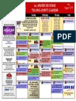Training Calendar August 2014 Final Keller Williams Greater Des Moines