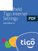 Handset Internet Manual Settings