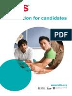 Information for Candidates Booklet IELTS