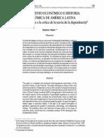 Crecimiento Económico e Historia. America Latina