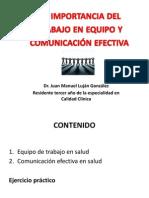Trabajo en Equipo y Comunicación