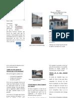 Tríptico Del Proyecto Recuperación de La Casa Hacienda Garagay 2