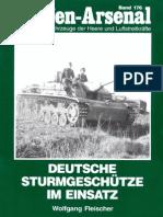 Waffen Arsenal - Band 176 - Deutsche Sturmgeschütze im Einsatz