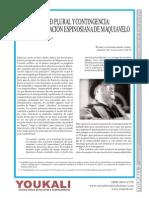 Temporalidad Plural y Contingencia. La Interpretación Espinosiana de Maquiavelo - Por Vittorio Morfino