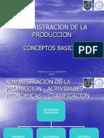 Admistra. de La Produccion Conceptos