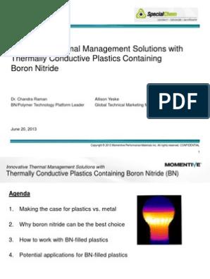 Momentive PDF | Electrical Resistivity And Conductivity | Boron