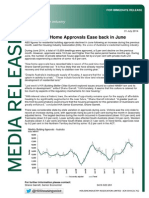 June 2014 Building Approvals - National Media Release