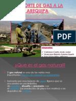 Transporte de Gas a La Región Arequipa