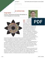 La infografía en entornos digitales | Fabricio de la Vega | FOROALFA