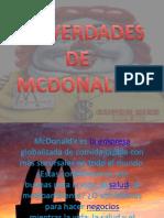Las Verdades de Mc Donalds