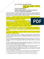 Lei Estadual 12.765-05 - PPP