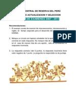 Examen Folleto BCR 2007 2011