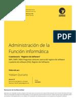 TI32 Cuestionario RegistroSoftware YiddamQuiriarte