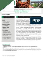 Sciences de l Education Parcours Clinique de La Formation
