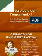 Clase6 Psicopatologia Del Pensamiento I