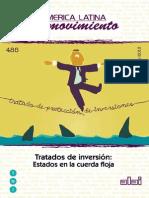 AA. VV. Tratados de Inversión. Estados en La Cuerda Floja
