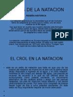 ESTILOS DE LA NATACION DIEGO PARRA