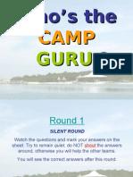 Day Camp 2009 Quiz