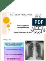 Rx Tórax Pediátrica
