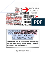 Overcome Overwhelm and Kick Procrastination