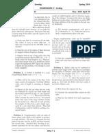 ECE/EAS 4870 (Spring 2014) Homework 7