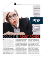 """Could it be Adult ADHD?"""