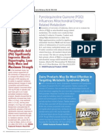 MAXXTOR, MiTOR and Maxpro Protein Research Findings