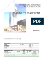 Proposed Klang Hotel Feasibility