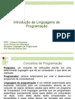 Introdução Às Linguagens de Programacao