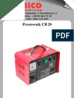 BICO Instrukcja Obslugi Prostownik Cb20