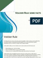 Volcker rule facts on metrics