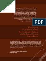 Fundamento Ideológico de La Acción Revolucionaria Del Grupo Lacandones - Guadalupe Santiago Quijada y Jorge Balderas Domínguez.