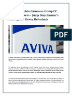 Dyman Associates Insurance Group Of Companies News - Judge Stays Insurer's Case Against Dewey Defendants