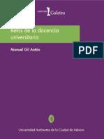 Retos de La Docencia Universitaria
